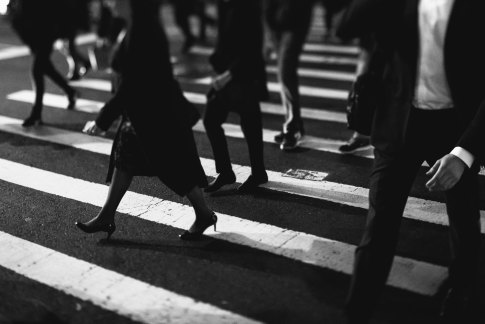 people walking on the street-unsplash
